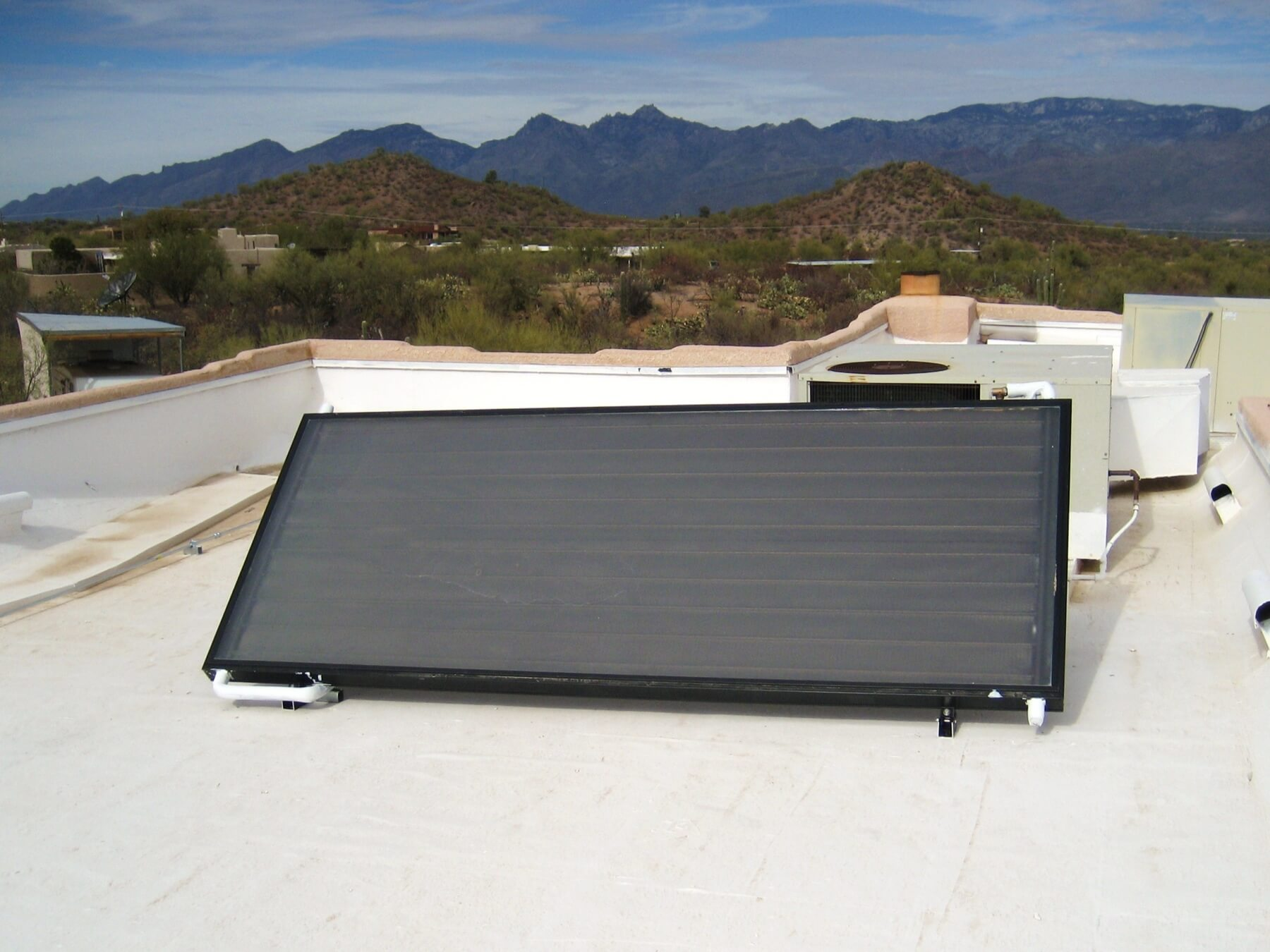 Solar Hot Water Heater Tucson Custom Solar And Leisure